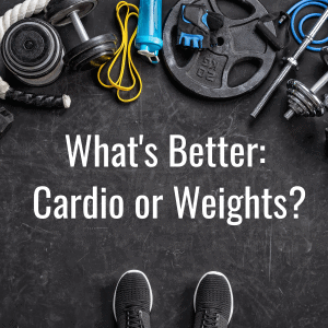 cardio or weights